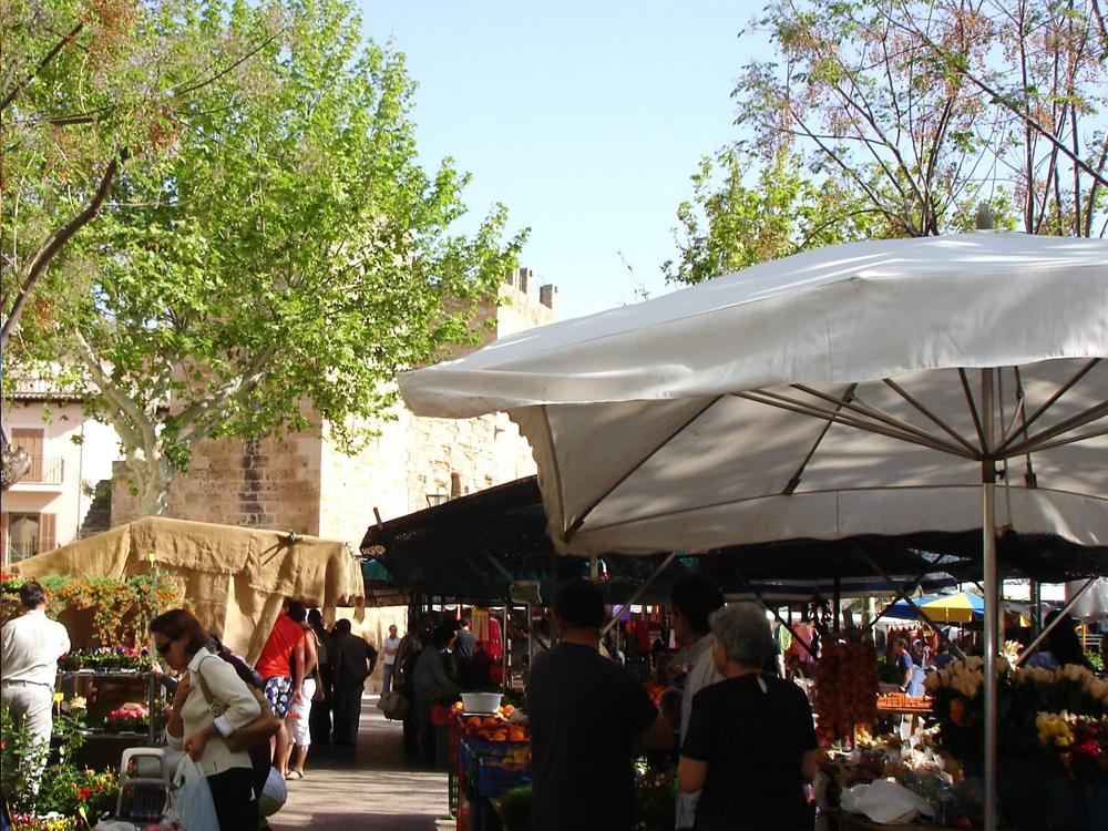 Mercado, Market, Wochenmarkt