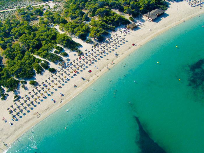 Colònia Sant Jordi - Beach, Strand, Playa Ets Estanys